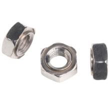 DIN929 Carbon Steel Weld Hexagon Nuts m6