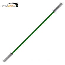 Gym Standard Color Custom Chrome Weightlifting Barbell Bar