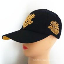 Gorra europea popular del casquillo del bordado 3D