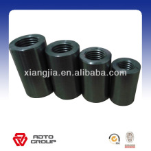 Usine Prix !!! barre en acier / rebar / acier au carbone manchon de raccordement, raccord de couplage de manchon à vis droite / joint