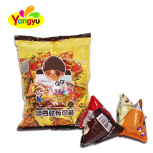 Chocolate Colorful Bean Coated Cereal Puffing Candy