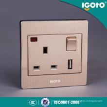 Britischer Standard BS 1fach USB-Ladegerät 13A Switch Socket