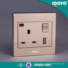 British Standard BS 1gang USB Charger 13A Switch Socket