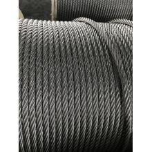 Câble métallique de résistance à la rotation anti-torsion 19X7