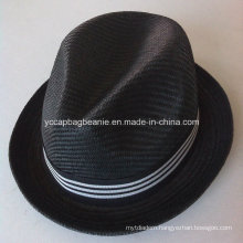 Fashion Mens 100%Paper Straw Cowboy Hat