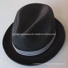 Мода Мужская 100% Бумага Соломенной шляпы Соломы