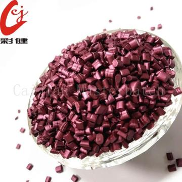 Claret-red Multicolour Masterbatch Granules