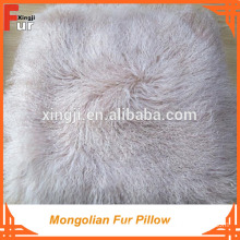 100% real fur Mongolian Fur Cushion
