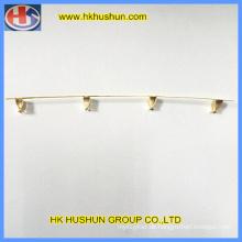 Metallstanzteil, Kupferkontakt, Messinganschluss für Sockel (HS-ST-005)