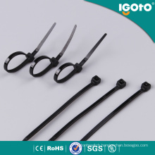 Free Sample Nylon66 Plastic Tie Self-Locking Cable Tie