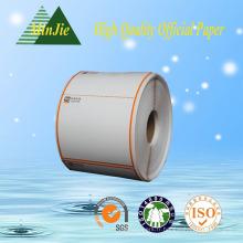 Caisse enregistreuse et reçus imprimés Eftpos Rolls Tailles 80X80-12mm avec rouleau thermique en plastique