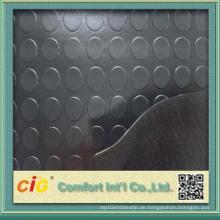 Münze / runder Knopf Gummi Bodenbelag Vinyl PVC