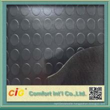 Coin / Round Button Rubber Flooring Vinyl PVC
