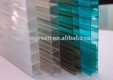 Hot sale China made double wall polycarbonate sheet