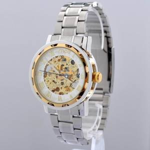 wholesale automatic skeleton mechanical faces watch