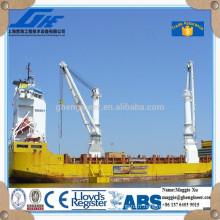 Grue de grue marine électrique à cargaison en vrac