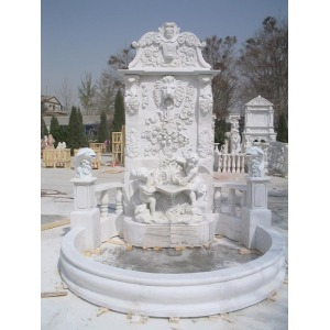 Natural Stone Carved Water Fountain