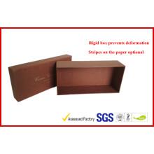 China Kleiderverpackungs-Versorgungsmaterialien / Kasten mit Band-Schließung