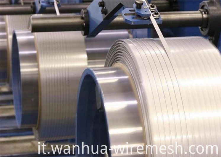 High Carbon Flat Galvanized Steel Wire (1)
