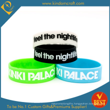 Custom Promotional Broadened Silicone Wristband (LN-012)