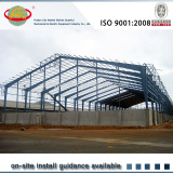 prefabricated light steel structure warehouse workshop building