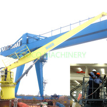 TTS Fixed Boom  Shipboard Marine Cranes Price