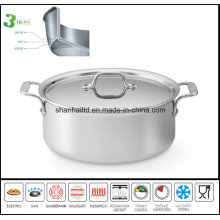 Low Soup Pot 3ply Body