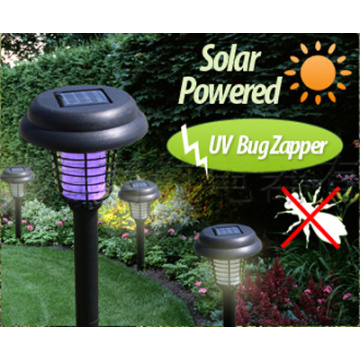 Outdoor Solar Powered LED Insect killer light