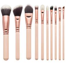 Ensemble de brosse à maquillage synthétique de qualité supérieure 10PCS (TOOL-83)