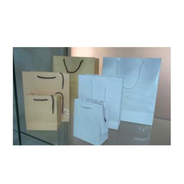 Сияющие сумки для покупок в белом и бежевом цветах (PBS-SP-W / PBS-SP-B)