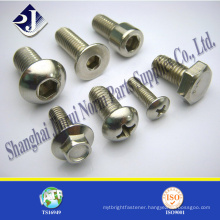 made in china zinc plated din astm bolt