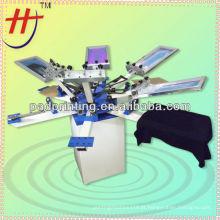 VM CE aprovado 6 cores 6 estação manual camisa t tela máquina de impressão
