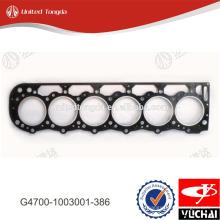 G4700-1003001-386 yuchai прокладка головки блока цилиндров для YC6G