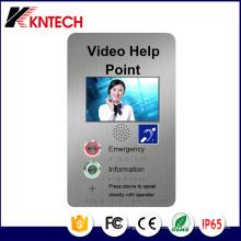 Téléphone de porte avec écran LCD Knzd-60 Kntech