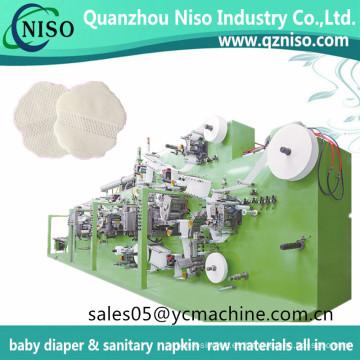 Cojines axilares absorbedores de sudor económico que hacen la máquina para las glándulas sudoríparas