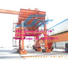 Materiais a granel Rail-Type Movable Port Hopper