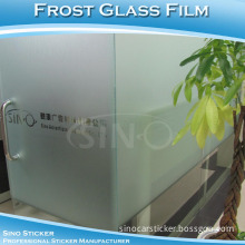 Sino Stickers Hot Sale Matt Frosted Surface PVC Film for Glass