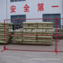 6'x10' Portable Temporary Welded Wire Fence Panels For Construction Sites