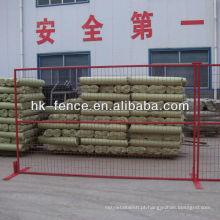 6'x10 'painéis soldados provisórios provisórios portáteis da cerca de fio para canteiros de obras