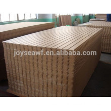 mdf slotted panel for construction