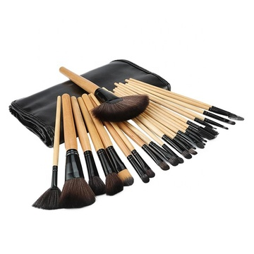 Eyeshadow Makeup Brush Set 24 Pcs with Case