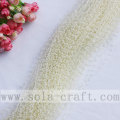 Milky White Artificial Faux Pearl String Beaded Garland