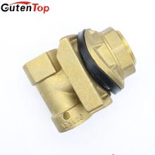 GutenTop Alta Qualidade Baixo Chumbo Latão Pitless Adaptador, PTFE Revestido O-ring Tipo de Junta