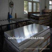 Folha de alumínio usada na condição de ar