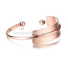 joyería 2017 último diseño pulsera de cadena de oro rosa diseños para hombre o mujer
