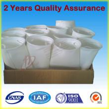 Tissu de filtre de sac de filtre de poussière de ciment de fibre de verre