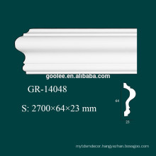 home decorative accents interior polyurethane foam crown moulding for ceiling