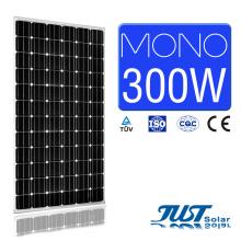 Panneau solaire mono 300W avec certification de Ce, CQC et TUV pour l'agriculture