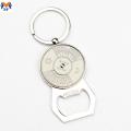 Metal Custom Beer Bottle Opener Keychains