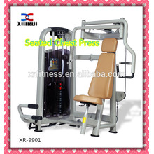 best price commercial Seated Chest Press Machine/chest exercise fitness equipment/home use sports machine for sale